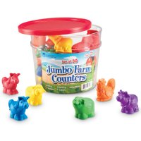 Jumbo Farm Counters, Set of 30 LER 7408