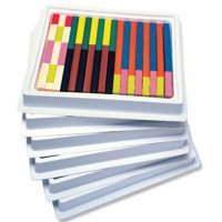 Cuisenaire® Rods Multi-Pack: Plastic Rods Item # LER 7502