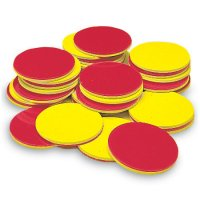 Two-Color Counters, Set of 200 LER 7566
