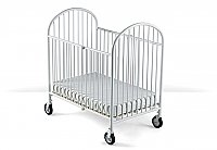 Foundations Compact Pinnacle EasyRoll Folding Crib with Foam Mattress 1331097