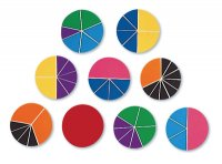 Deluxe Rainbow Fraction Circle  LER-0617
