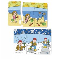 Puzzles (Seasons Sequencing Puzzles)