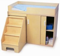 Step Up Toddler Changing Cabinet WB0648