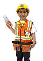 Construction Worker Role Play Costume Set  3 - 6 years MD-4837