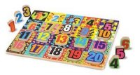 Jumbo Numbers Chunky Puzzle  Item MD- 3832