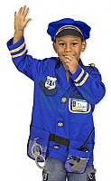 Police Officer Role Play Costume Set  3 - 6 years  MD-4835