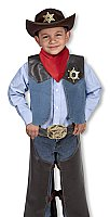 Cowboy Role Play Costume Set  3 - 5 years MD- 4273