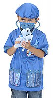 Veterinarian Role Play Costume Set  3+ years MD-4850