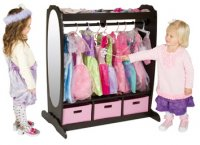 Dress-Up Storage Center: Chocolate G98099