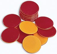 Counters (Two-Colour Plastic Counters)