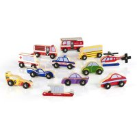 Guidecraft™ Wooden Vehicle Collection Set of 12 G6719