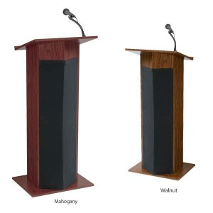 Power Plus Floor Lectern OCS-111PLS