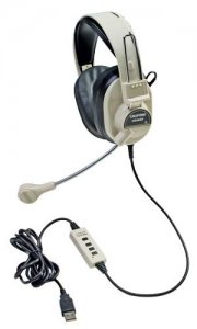 Deluxe Multimedia Stereo Headsets CLF-3066-USB
