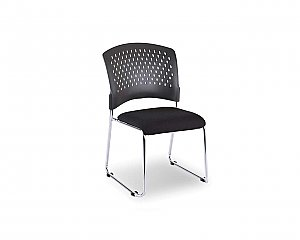 AGENDA II LINKABLE FABRIC STACKING CHAIR AFSC-3270