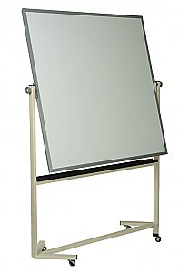 Magnetic Lauzonite High Performance Double Surface Reversible White Board  (5 YEARS SURFACE WARRANTY) Size:4' x 4'  S555