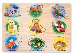 Pets Sound Puzzle  Item #:MD- 342