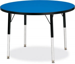 "Activity Table 36"""" Round Laminate Table Top Adjustable Height(COLOR OPTION AVAILABLE) 6488JCT"