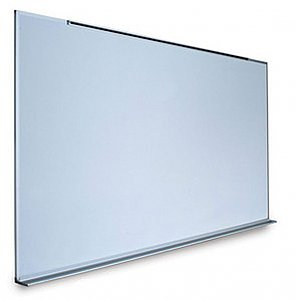"MAGNETIC LAUZONITE WHITE BOARD HIGH PERFORMANCE SURFACE (FIVE YEARS SURFACE WARRANTY) 48"" X 120"" 4048120 MA BC"