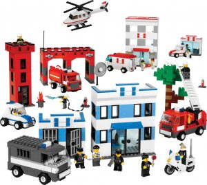 LEGO EDUCATION RESCUE SERVICE SET 779314