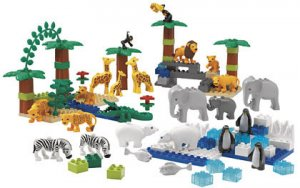 LEGO DUPLO WILD ANIMALS SET 9214