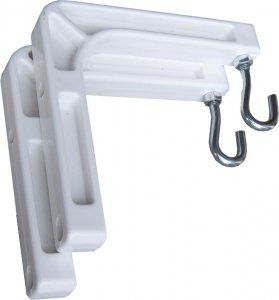 Retract Plus manual Screen Wall Bracket  SIZE OPTION AVAILABLE 60999X