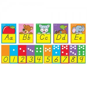 Abc Fun Alphabet Line Zaner Bloser Bulletin Board Set S 8137
