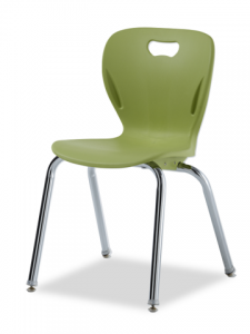 "4-Leg Stacking Chair Seat height 18"" ACF-EXP 18"