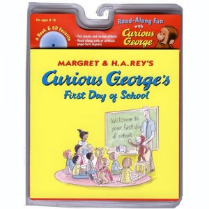 Carry Along Book & CD, Curious George s First Day of School A42-9780618605651