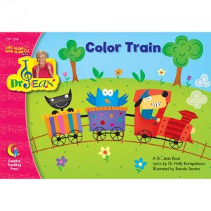 Color Train Sing Along & Read Along With Dr Jean