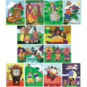 Fairy Tales And Nursery Rhymes Puzzle Set D54-1264