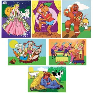 Fairy Tales And Nursery Rhymes Puzzle Set D54-1265