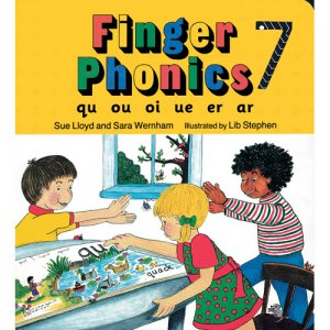Finger Phonics Book 7 in Print Letters (E71-519)