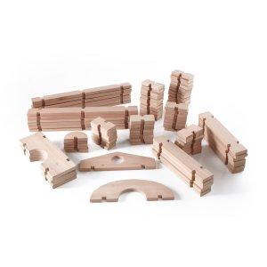 Guidecraft™ Notch Blocks Set 89 Pc.G6110