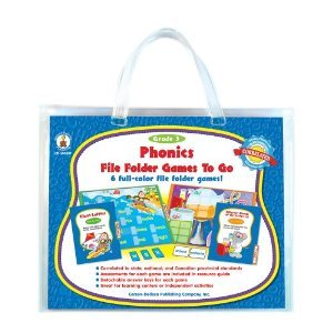 Gr 3 Phonics File Folder Games to (A15-140037)