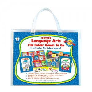 Gr 2 Language File Folder Games to Go (A15-140022)