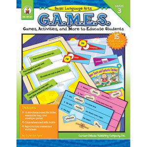 Gr 3 Basic Language Arts Games (A15-104187)