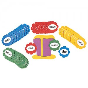 Jolly Phonics Tricky Word Wall Flowers (E71-114)