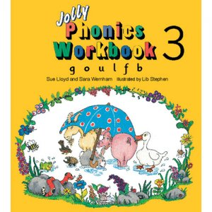 Jolly Phonics Workbook 3 (E71-537)