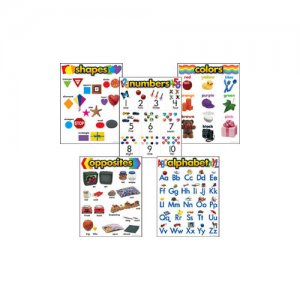 Kindergarten Basic Skills Learning Chart Combo Pack B56-38920