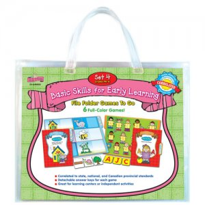Pk-K Basic Skills For Early Learning Set 4 File Folder Games To Go (A15-DJ640003)