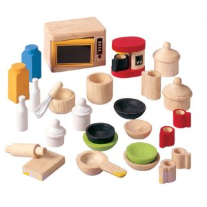 Plan Toys Accessories For Kitchen & Dining Room Set 9406