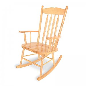 Adult Rocking Chair Solid Hardwood WB 5536