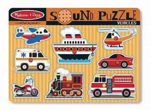 Vehicles Sound Puzzle  Item #:MD- 725