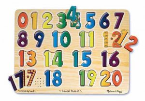 Numbers Sound Puzzle  Item #:MD- 339