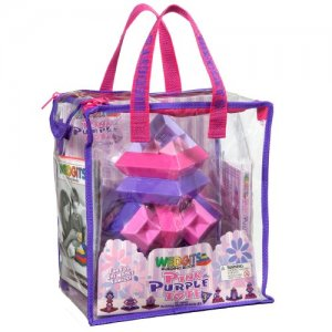 WEDGiTS Purple & Pink Activity Tote # 301519