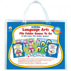 Gr 1 Language File Folder Games to Go CD-140021