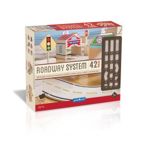 Guidecraft™ Roadway System 42 Pc Set G6713
