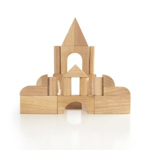 Guidecraft™ Hardwood Unit Block 34 Pc Set G6200