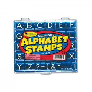Uppercase Alphabet & Punctuation LER-0597
