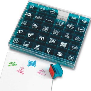 Jumbo Teacher Stamps LER0678
